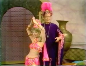 Natasha (Jane Powell) and Aladdin (Cyril Ritchard) in Fairy Tales for Old Children