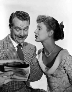 Red Skelton and Betty Garrett in Neptune's Daughter