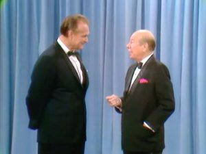 Red Skelton and Bert Lahr on stage