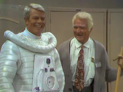 Peter Graves with Pop in Pop, the Astronaut
