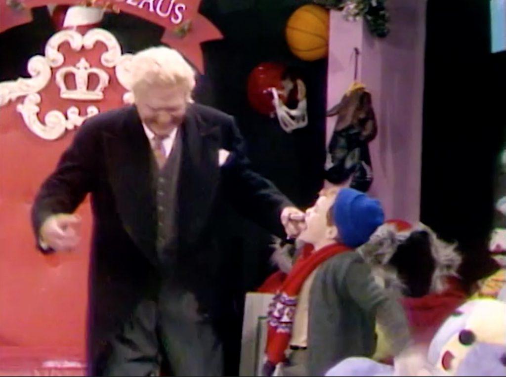 Pops is bitten by a child!