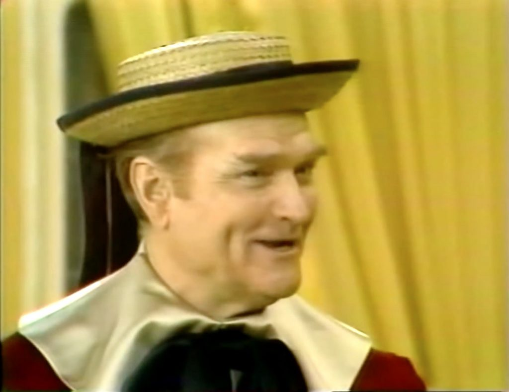 Red Skelton, as Junior the Mean Little Kid, as Prince Charming