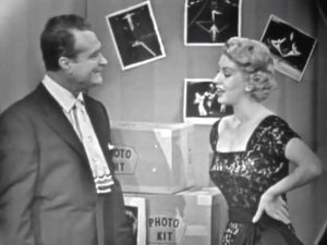 Red Skelton and Karolee Kelly at the Do It Yourself Show - photography