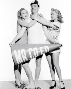 Publicity photo of Red Skelton from Bathing Beauty as Mr. Co-ed
