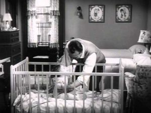 Red Skelton dealing with his child in Half a Hero