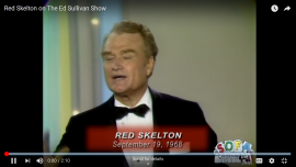 Two guys at the funny farm - an old joke, told by Red Skelton on The Ed Sullivan Show