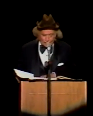 Frogs, a poem by Red Skelton, read by Clem Kadiddlehopper