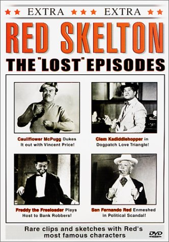 Red Skelton - The Lost Episodes - DVD collection