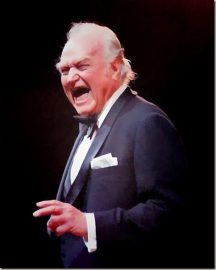 Red Skelton as as old man - Red Skelton's farewell