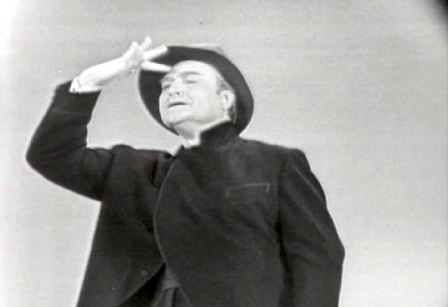 Laughter, the Universal Language - Red Skelton performing pantomime at the United Nations
