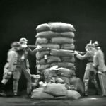 American soldier Red Skelton and German soldier Harpo Marx are both ordered to fire by their superior officers - so they do!