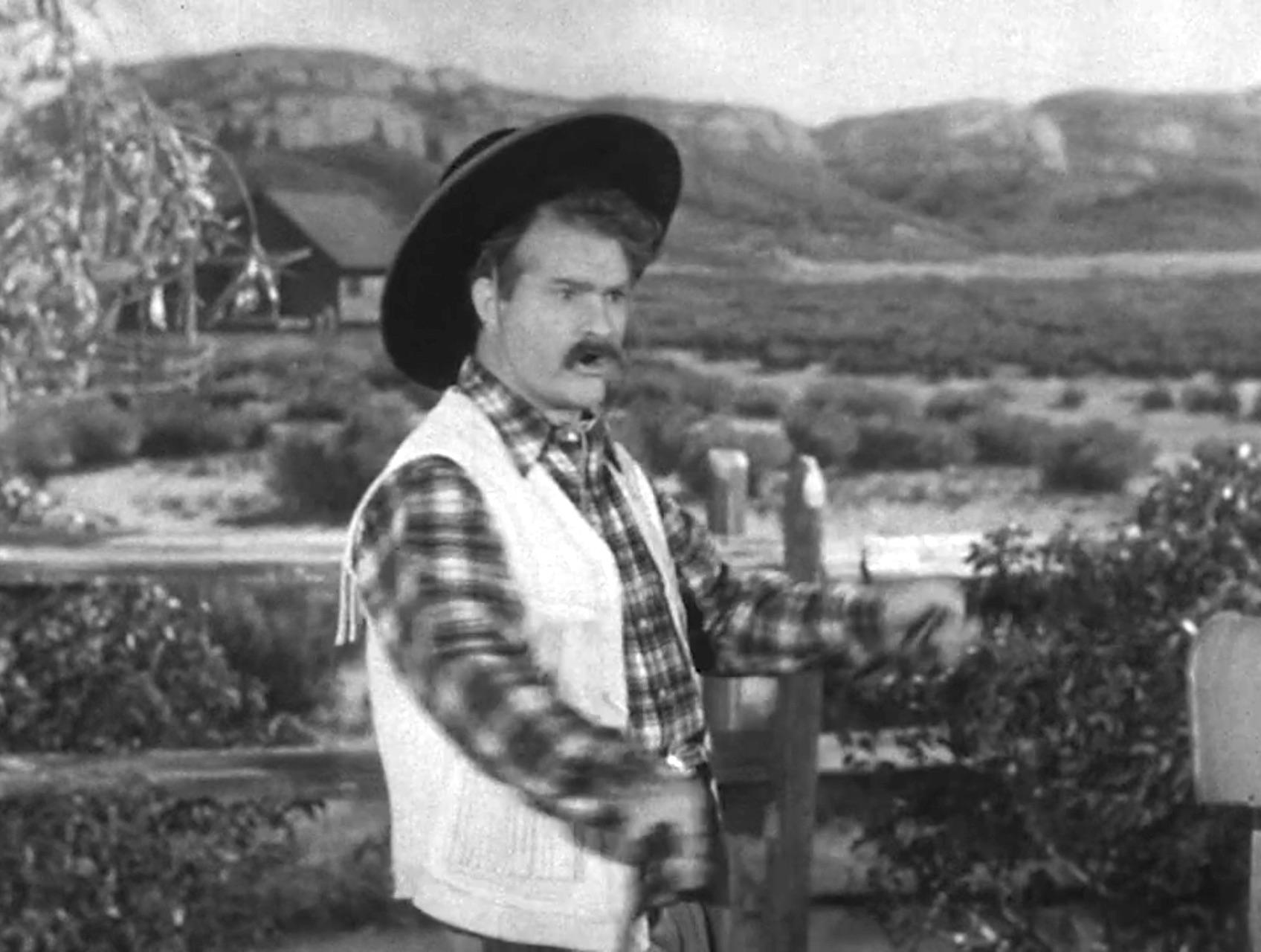 "Sure as Shootin' - Sheriff Deadeye demonstrates ""fancy shootin'"""