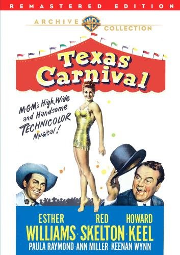 Texas Carnival (1951) starring Red Skelton, Esther Williams, Howard Keel, Ann Miller, and Keenan Wynn