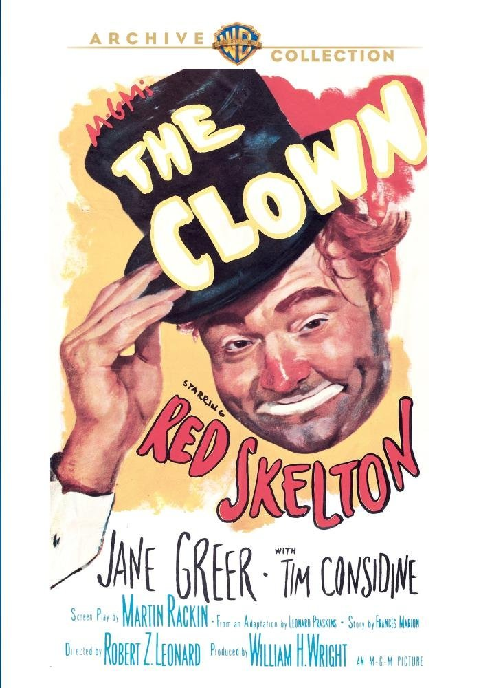 Poster for Red Skelton's great movie, The Clown