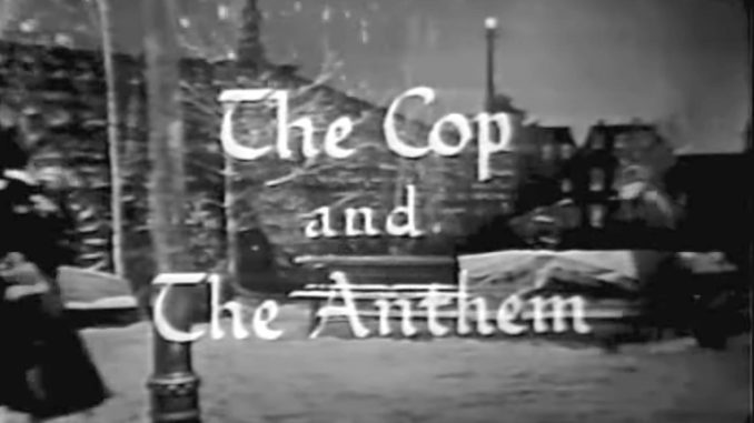 The Cop and the Anthem - The Red Skelton Show season 4, originally aired December 21, 1954