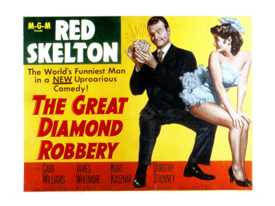 The Great Diamond Robbery (1953) starring Red Skelton and Cara Williams