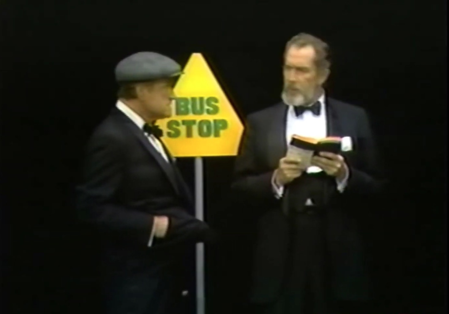 The Hold Up - one minute sketch, where Red Skelton holds up Vincent Price - but why?