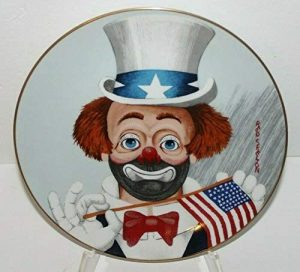 """Red Skelton """"The Pledge Collectors Plate 1987"""
