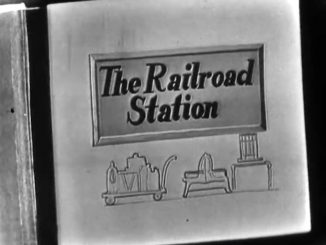 The Railroad Station - The Red Skelton Show, season 1, originally aired May 25, 1952