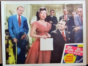 Three Little Words - color lobby card