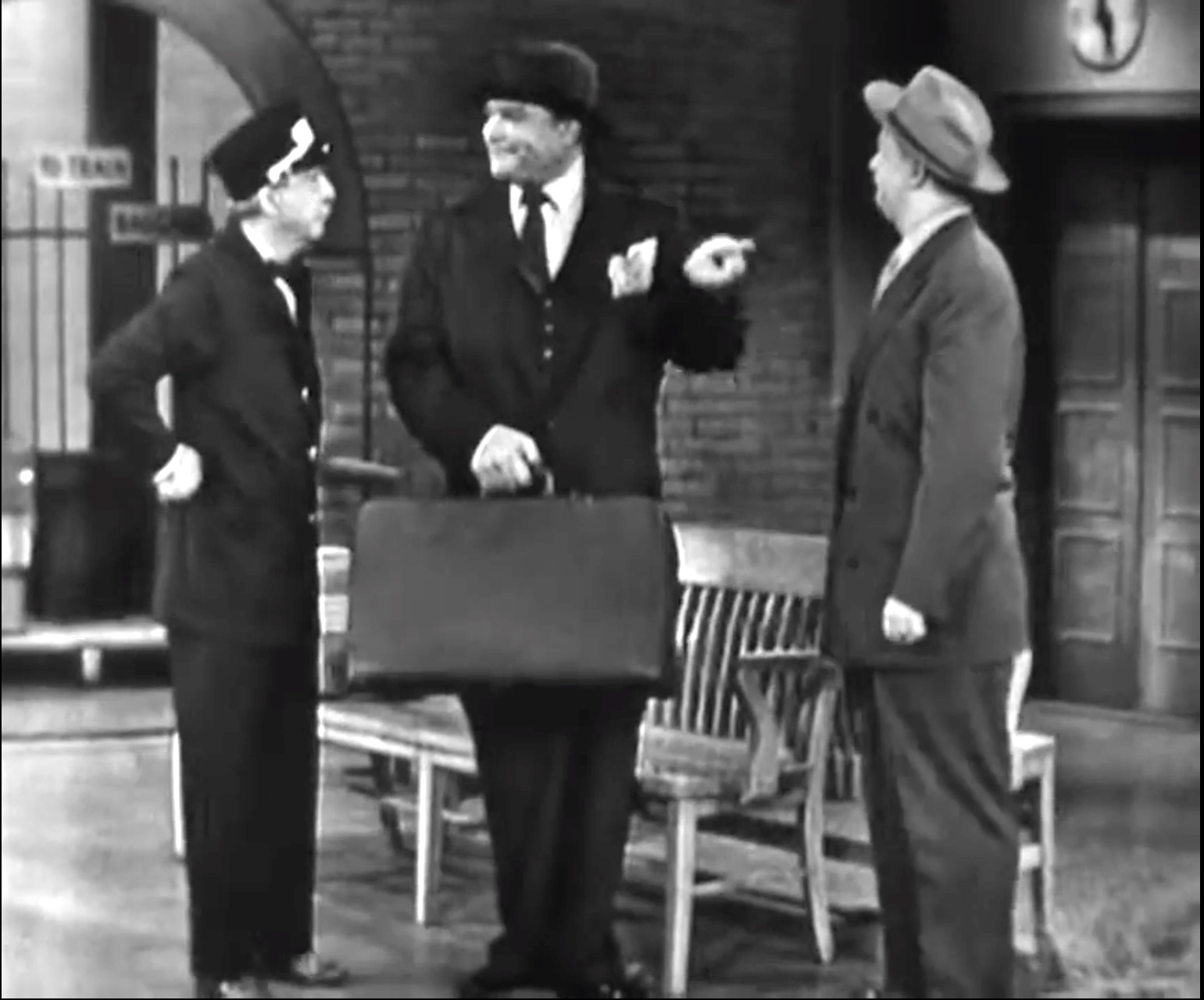 The Railroad Station - where Willie Lump Lump causes chaos for all involved!
