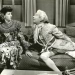 Virginia O'Brien and a lovesick Bert Lahr in Ship Ahoy