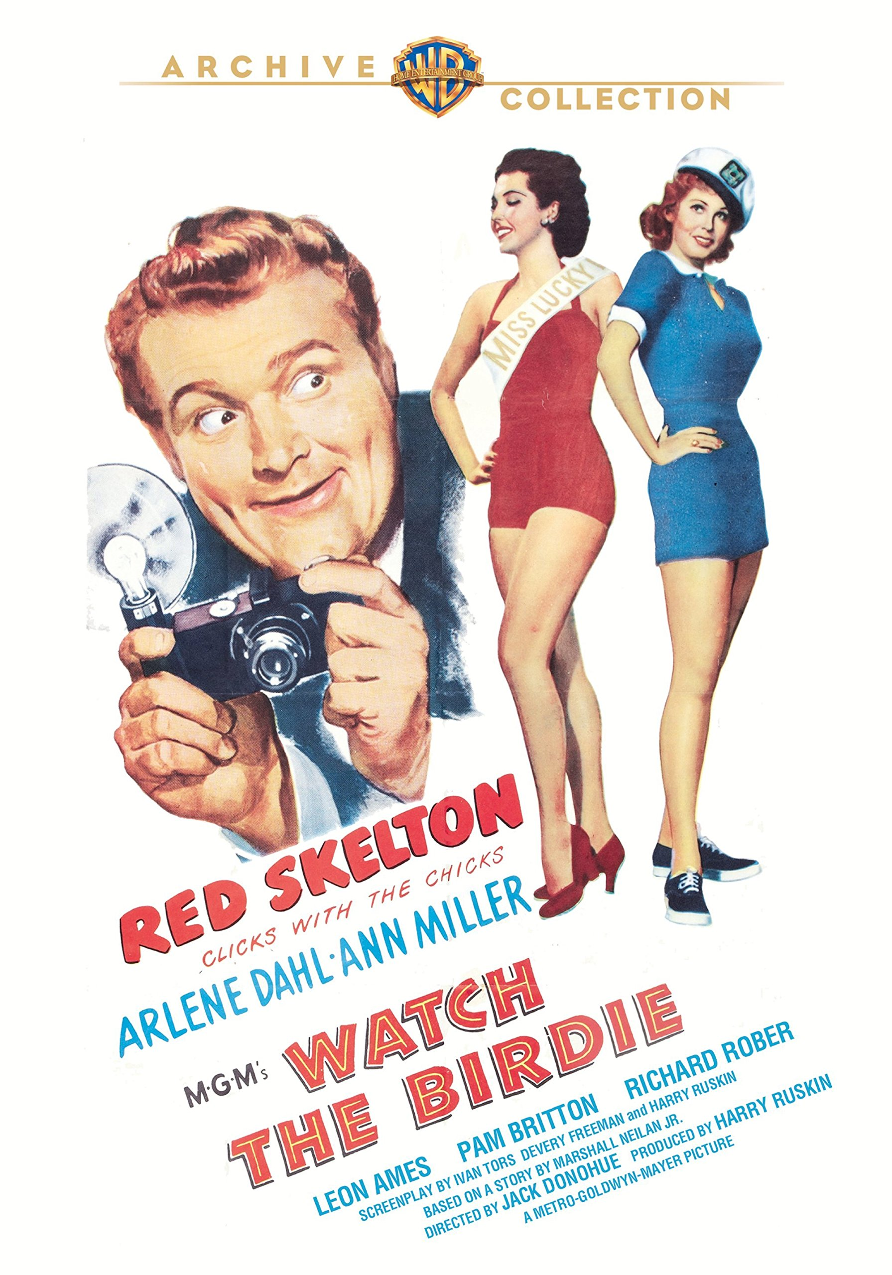 Watch the Birdie (1950) starring Red Skelton, Arlene Dahl, Ann Miller