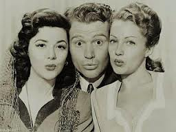 Red Skelton, Ann Rutherford and Diana Lewis in a publicity still from Whistling in Dixie (1942)
