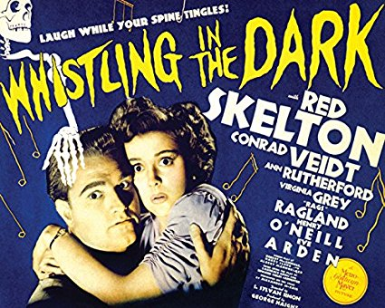 Whistling in the Dark  (1941) starring Red Skelton, Conrad Veidt, Ann Rutherford, Eve Arden, Rags Ragland