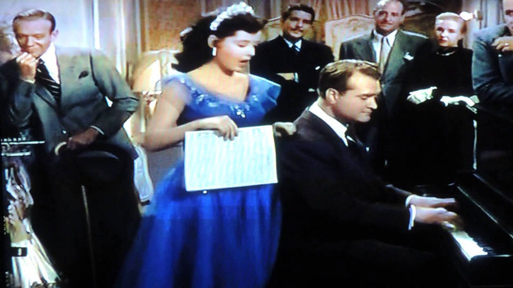 Who's Sorry Now? performed by Gloria Dehaven in Three Little Words