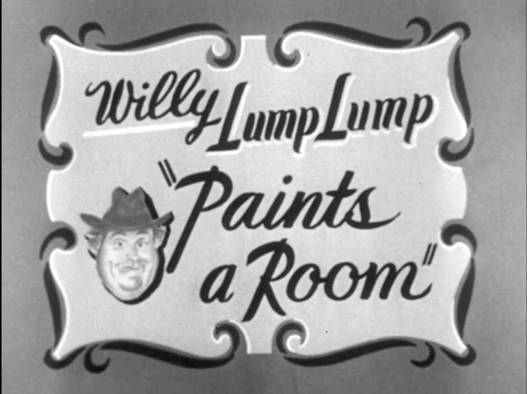 Willie Paints a Room titlea