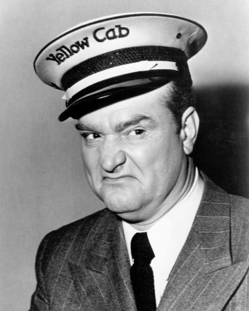 Red Skelton in a publicity photo from The Yellow Cab Man